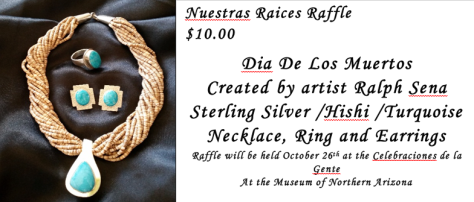 Nuestra Raices to hold Raffle on Oct. 24