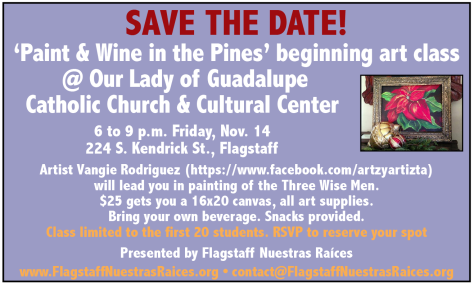 11-14-14 Paint and Wine in the Pines