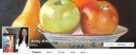 Artzy Artizta — Vangie Rodriguez