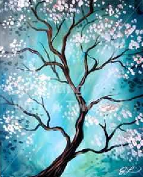 March 2015 Paint & Wine in the Pines