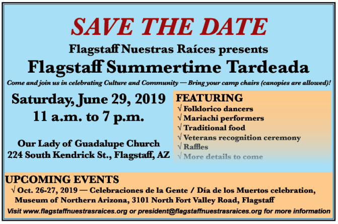 Save the Date: Flagstaff Summertime Tardeada returns June 29, 2019