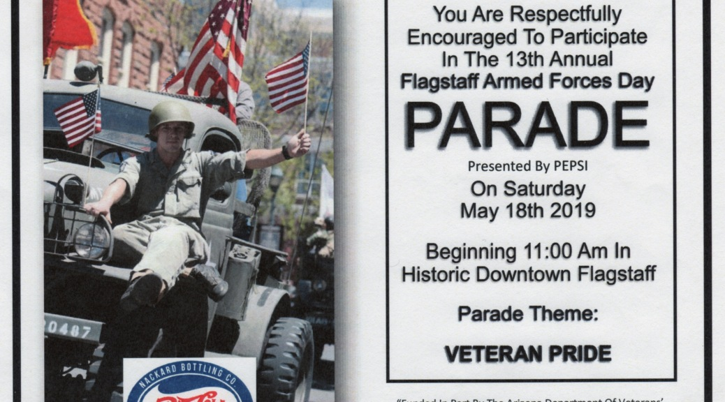 save off 7d4db 48d16 Flagstaff Nuestras Raices to participate in 2019 Armed Forces Day Parade