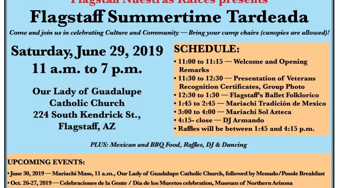 Mariachi Sol Azteca, Mariachi Tradición de Mexico to perform at Flagstaff Summertime Tardeada on June 29, 2019